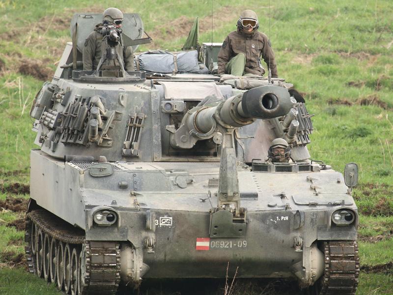 155 mm Panzerhaubitze M109A5Ö © Doppeladler.com
