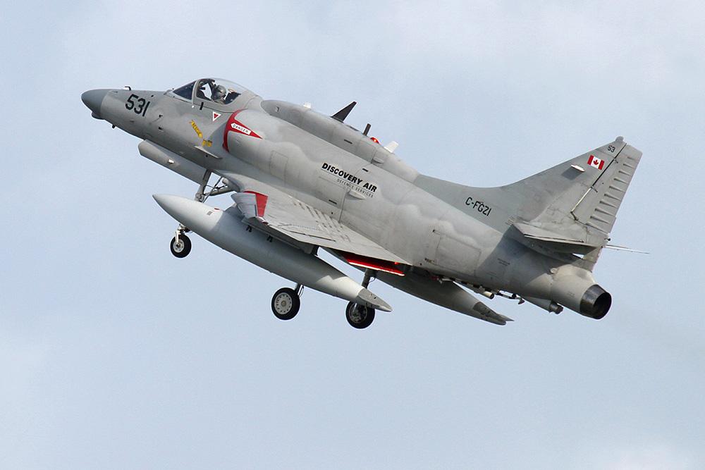 C-FGZI - McDonnell Douglas A-4N Skyhawk von Discovery Air © Oliver Jonischkeit