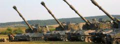 155 mm Panzerhaubitzen M109A5Ö © Bundesheer