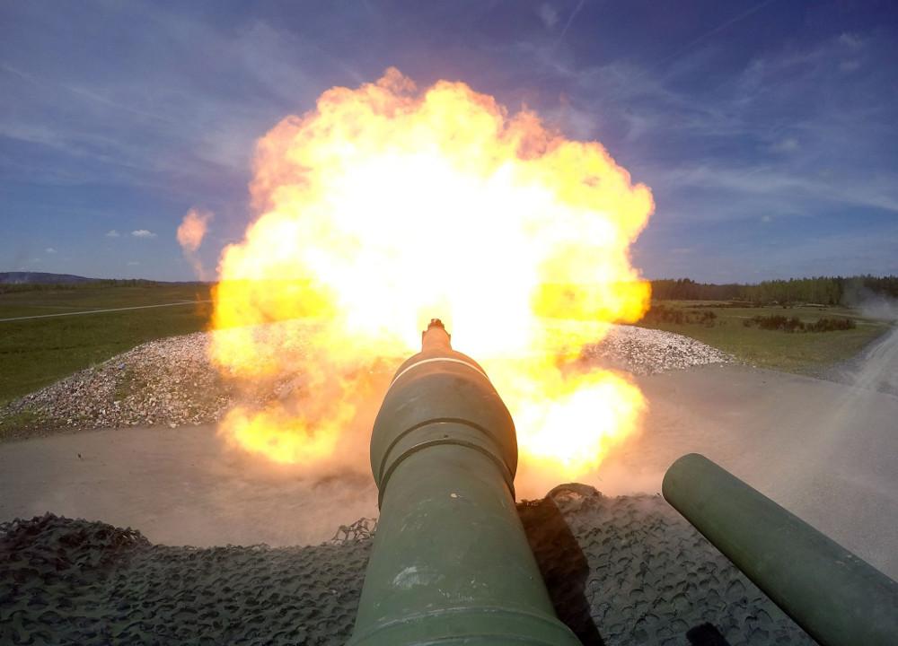 Abrams im scharfen Schuss © US Army / 3rd BCT