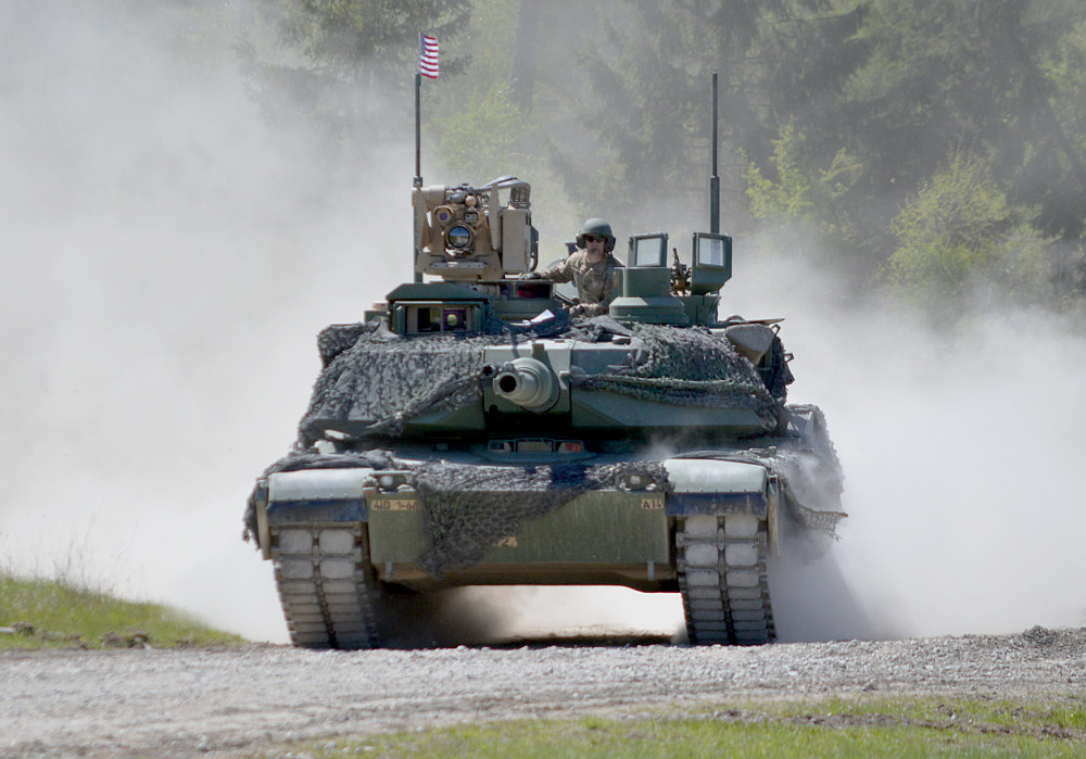 Kampfpanzer M1A2 mit dem SEP Upgrade (System Enhancement Program) © US Army