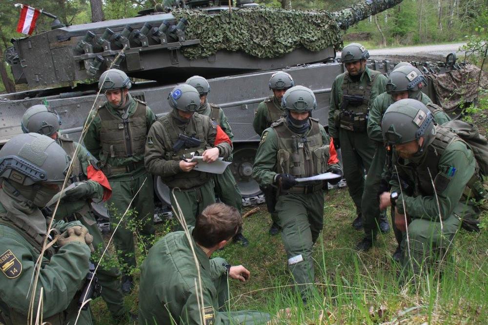 Befehlsausgabe © Bundesheer