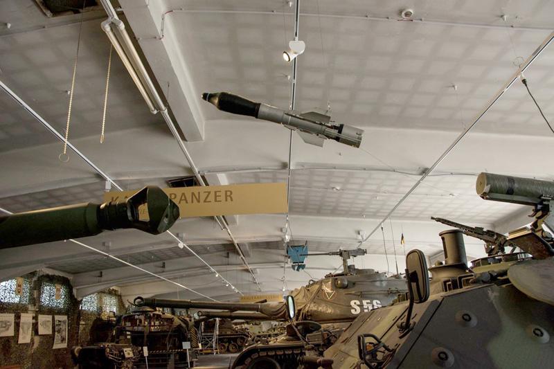Panzerhalle - Lenkflugkörper HOT des Jaguar © HGM
