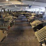 """Die Panzerhalle, treffend auch als """"begehbares Depot"""" beschrieben © HGM"""