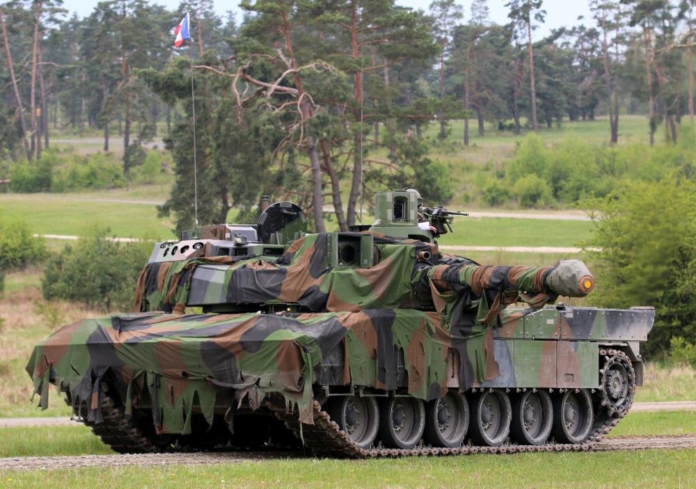 Französischer Kampfpanzer Leclerc © US Army