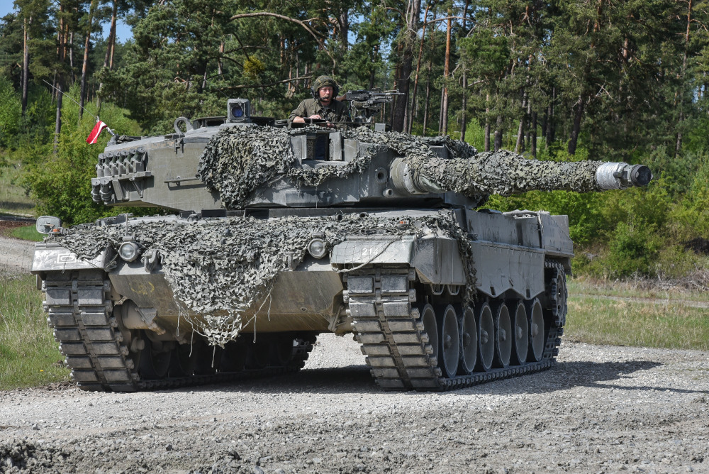 Leopard 2A4 © US Army