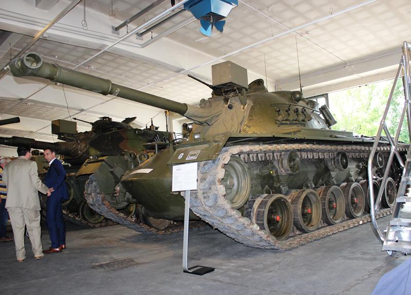 Mittlerer Kampfpanzer M48 A2C mit 90 mm Panzerkanone © Doppeladler.com