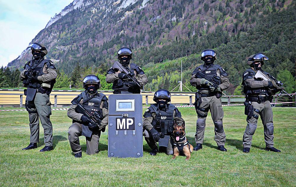 Militärpolizei bei der TROMOS 2017 © Bundesheer