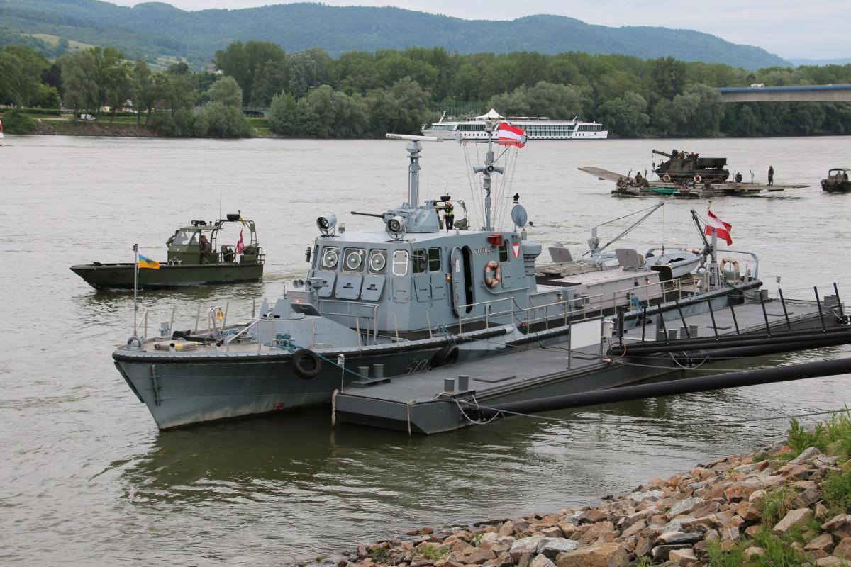 Museumsstück: Patrouillenboot Niederösterreich © Doppeladler.com