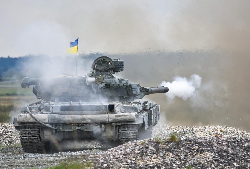 Kampfpanzer T-64BM mod © US Army
