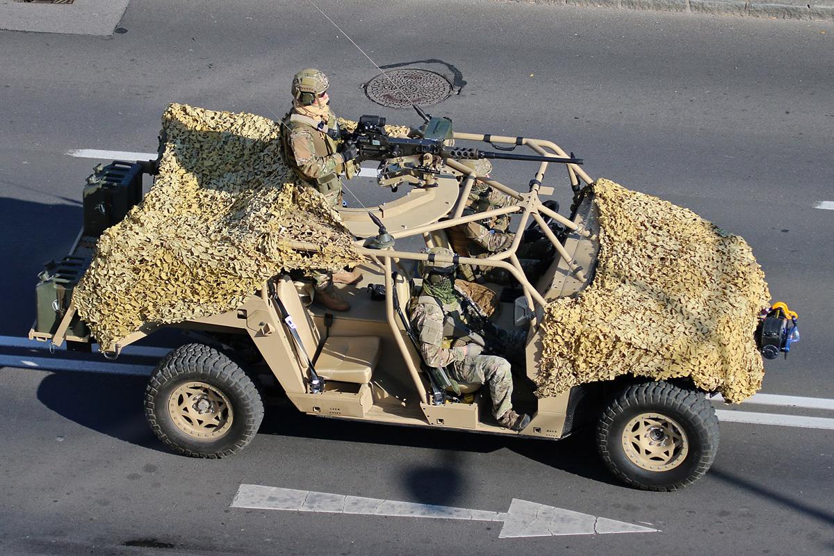 DAGOR des Jagdkommandos bei der Parade in Wr. Neustadt © Bundesheer