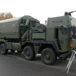 Der MAN 38.440 8x8 ÖBH gepanzert besitzt ein 7,62 mm MG in einer Überkopf-Waffenstation © Doppeladler.com