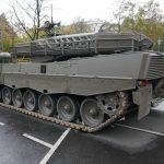 Kampfpanzer Leopard 2A4 mit neuen Turmkörben - nach wie vor ein Einzelstück © Doppeladler.com