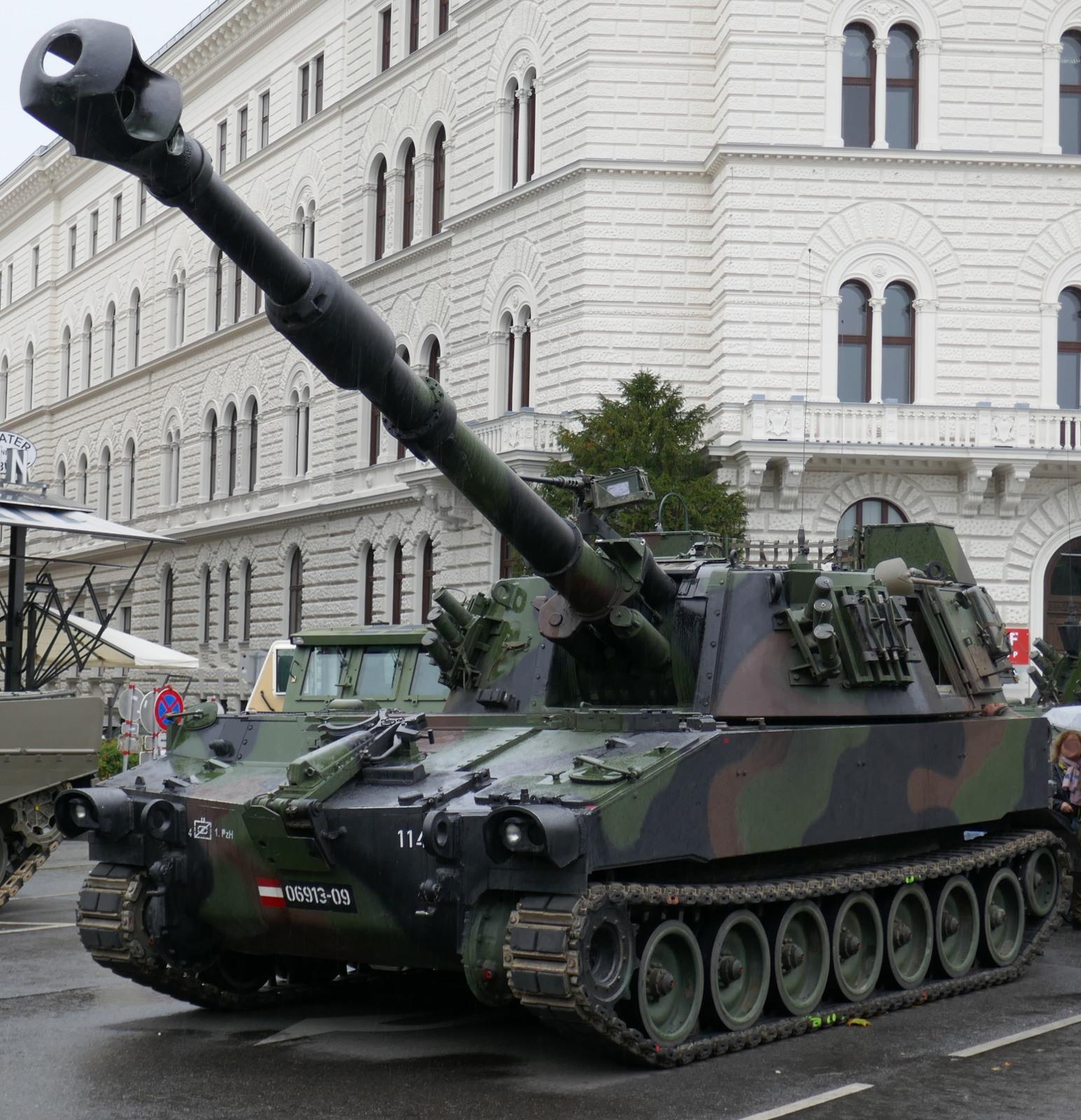 155 mm Panzerhaubitze M109 A5Ö © Doppeladler.com