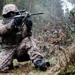 Bis heute wir der Kampfanzug M57 bei Scharfschützen oder Feinddarstellern gerne genutzt © Bundesheer