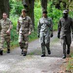 Langjährige Entwicklung: Tests im Jahr 2011 führten zur Entwicklung einer österreichischen Pixeltarnung für das Jagdkommando © Bundesheer