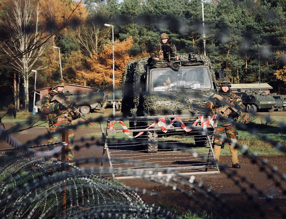 Soldaten des belgischen Bataljon Bevrijding © Bataljon Bevrijding