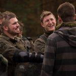 Im Smalltalk mit den Feinddarstellern © Bundesheer