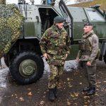Ein ÖBH-Dingo wird zum königlichen Schutzfahrzeug © Bundesheer