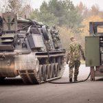 Der Bergepanzer M88A1 beim Tank-Container © Bundesheer