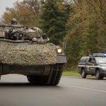 Schützenpanzer Ulan und Militärpolizei © Bundesheer