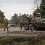Belgischer Checkpoint mit Piranha III C © Bundesheer