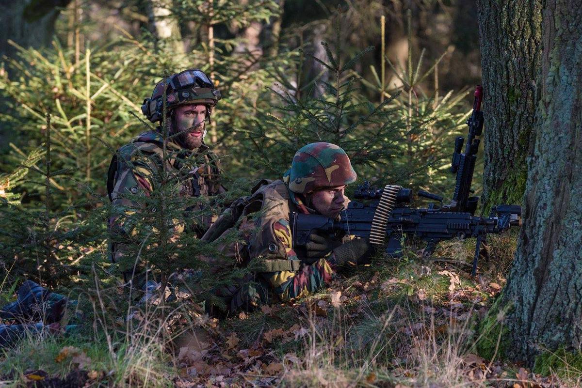 Niederländische Soldaten © 13 Lichte Brigade