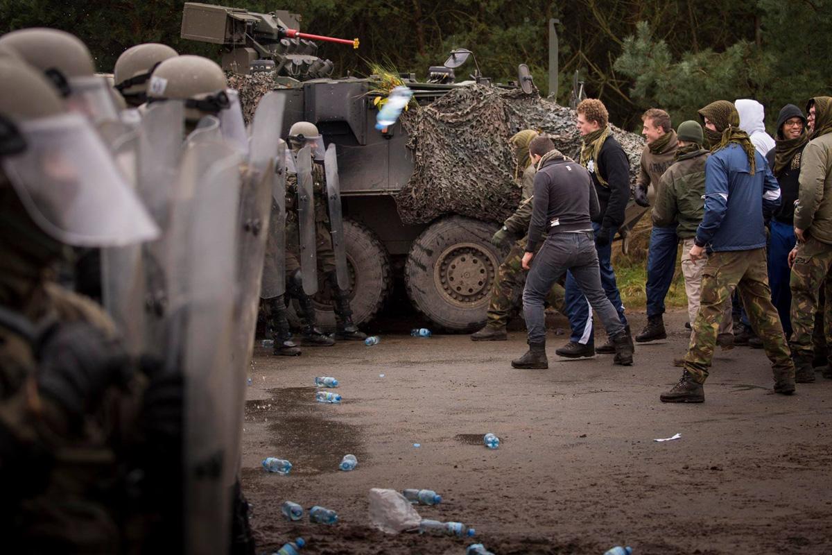 Belgier und Österreicher im Einsatz © Bundesheer