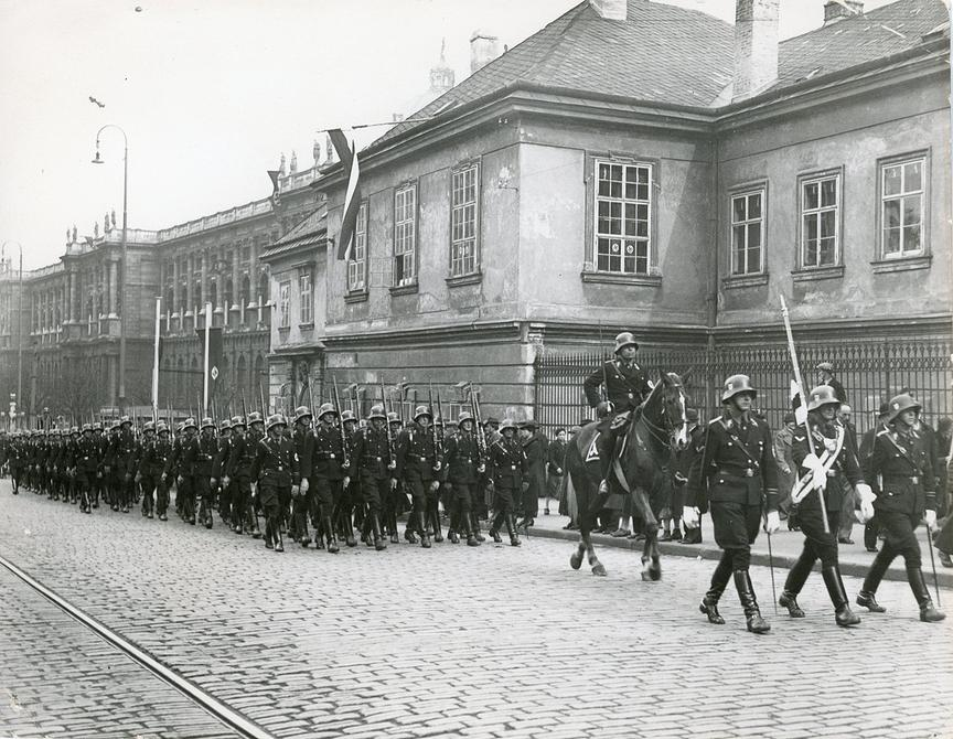 SS-Truppen in Wien 1938 © ORF
