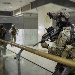 Alle Stockwerke des Einkaufszentrums standen zur Verfügung © Bundesheer