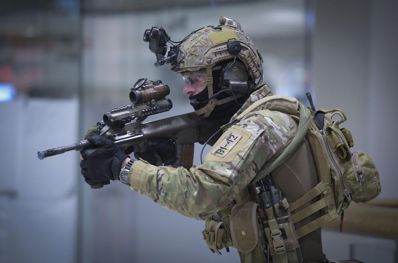 Die Kommandosoldaten tragen die Multicam Uniform von Claw Gear © Bundesheer