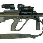 Sturmgewehr StG 77 A1 MP mit Mündungsfeuerdämpfer © Bundesheer