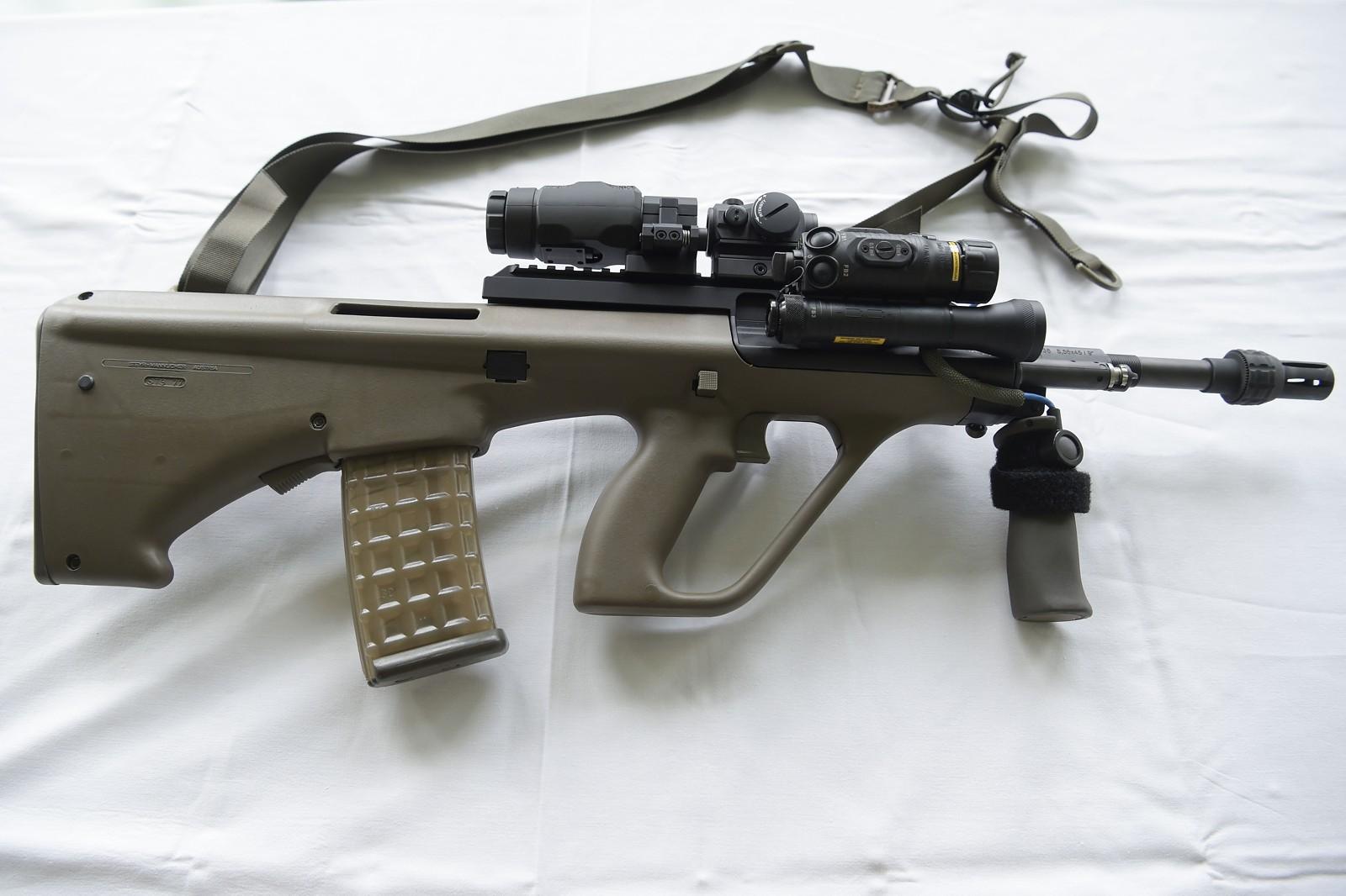 Sturmgewehr StG 77 A1 MP © Bundesheer