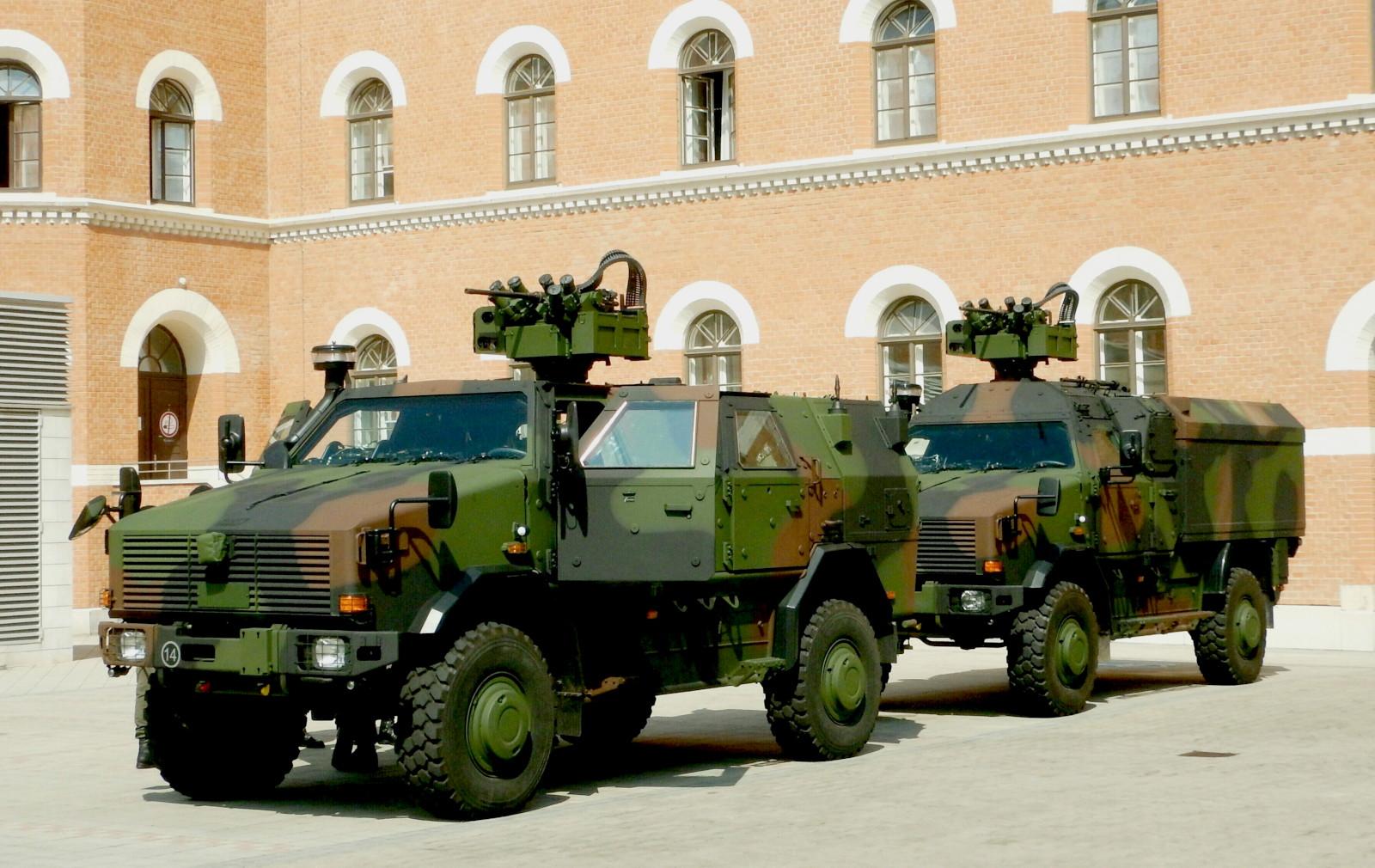 58 neue Allschutzfahrzeuge DINGO 2 wurden beschafft © DoppeladlerTeam / Vojtenko