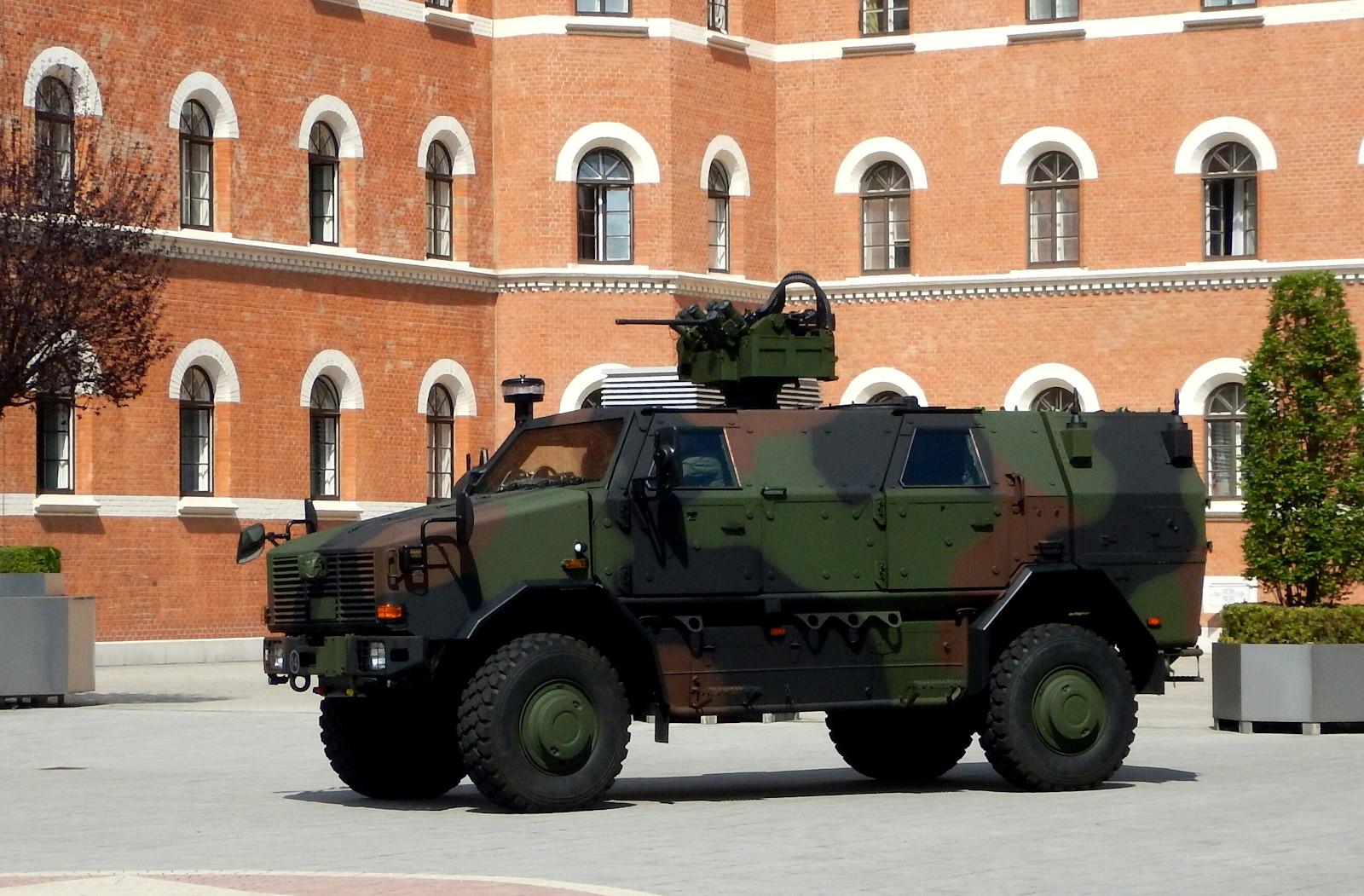 Patrouillen- und Sicherungsfahrzeuge Dingo 2 A3 PatSi © DoppeladlerTeam / Vojtenko