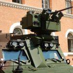 Elektrisch fernbedienbare Waffenstation efWS WS4 Panther von ESLAIT mit 12,7 mm MG © DoppeladlerTeam / Vojtenko
