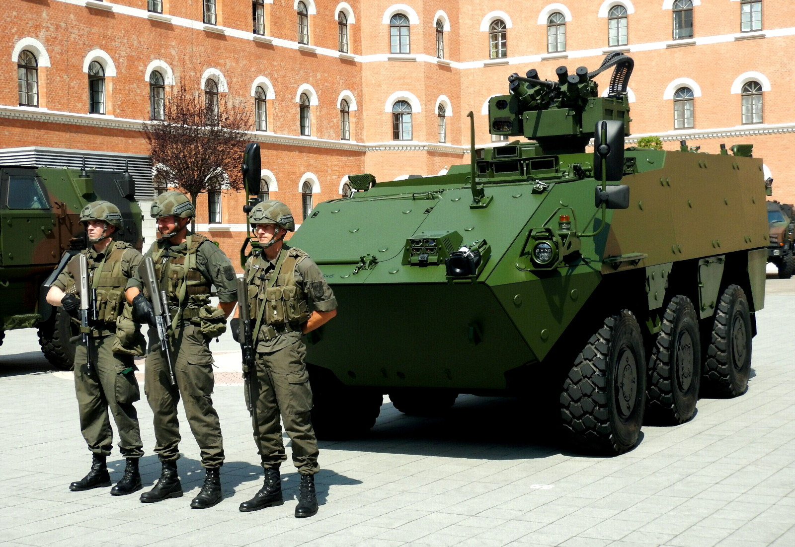 Mannschaftstransportpanzer PANDUR EVO 6x6 © DoppeladlerTeam / Vojtenko