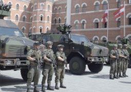 Neue gepanzerte Fahrzeuge © Bundesheer