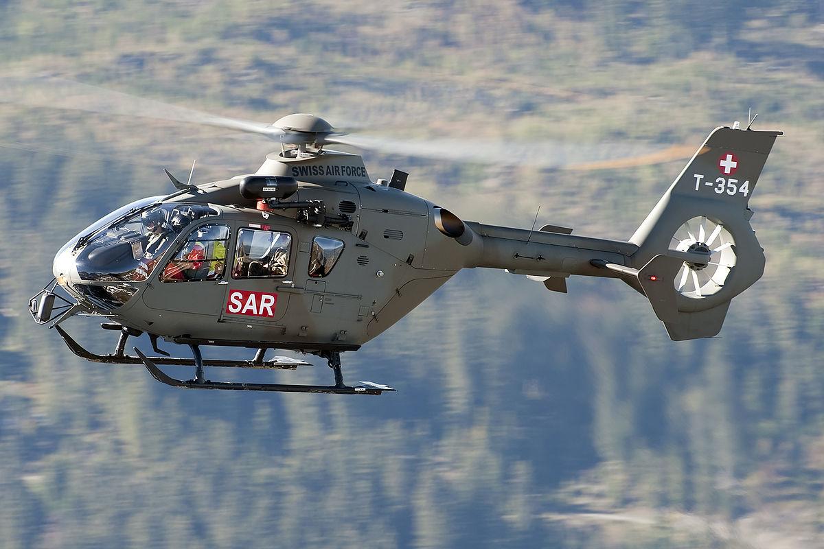 H135M / EC 635P2+ der Schweizer Luftwaffe © Airbus