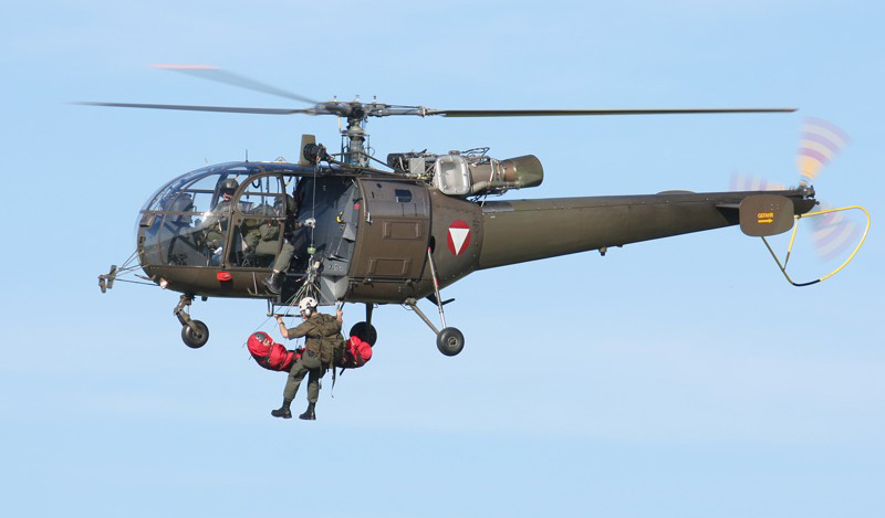 Sud-Aviation SA 316B ALOUETTE III © Doppeladler.com
