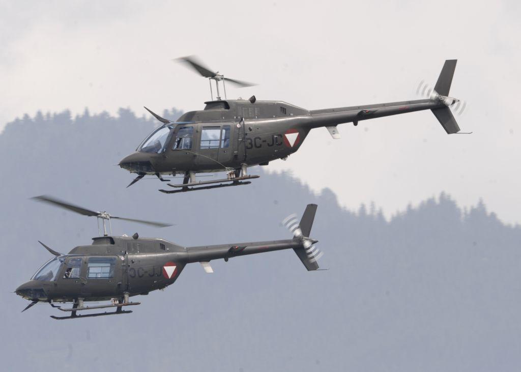 Agusta-Bell AB 206A JET RANGER © Bundesheer