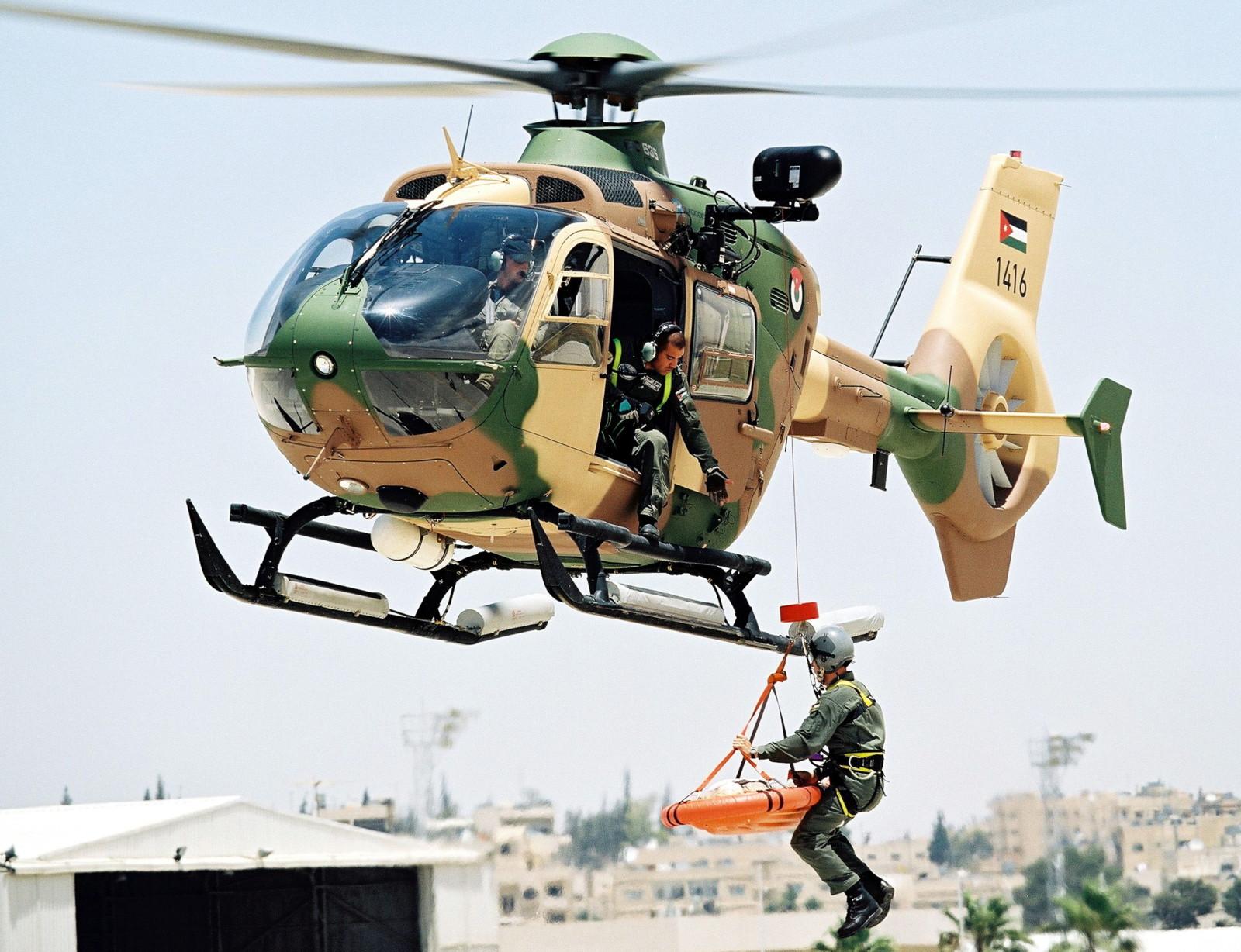 H135M / EC635 der Jordanischen Streitkräfte © Airbus