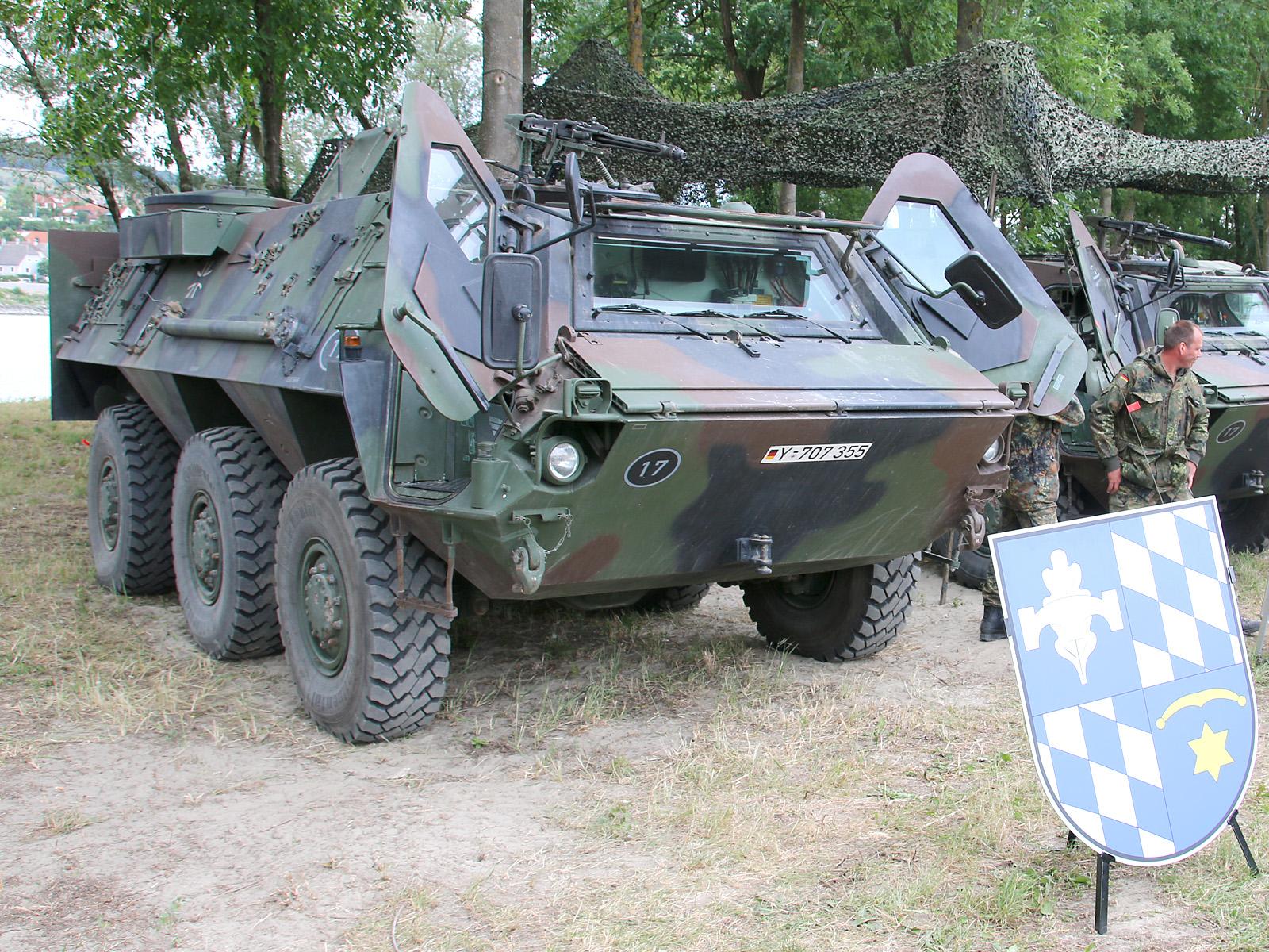 Transportpanzer Fuchs © Doppeladler.com