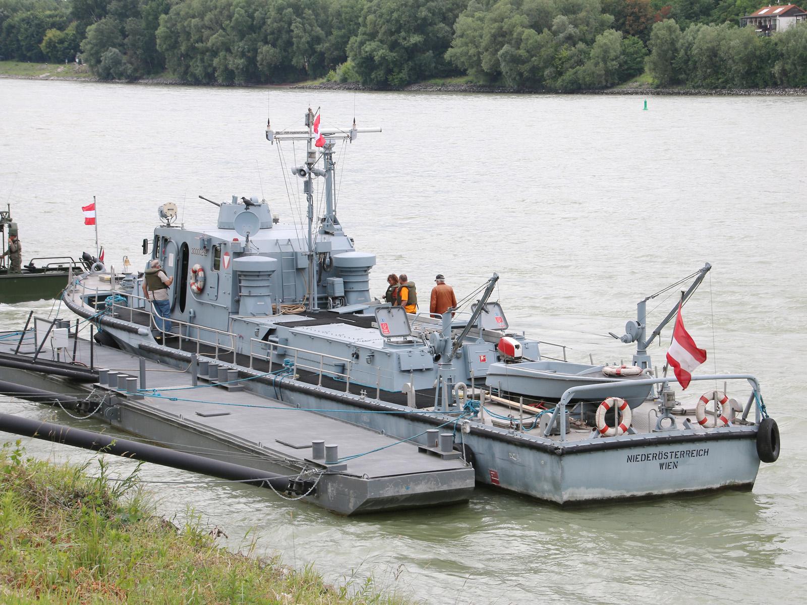 Patrouillenboot Niederösterreich © Doppeladler.com