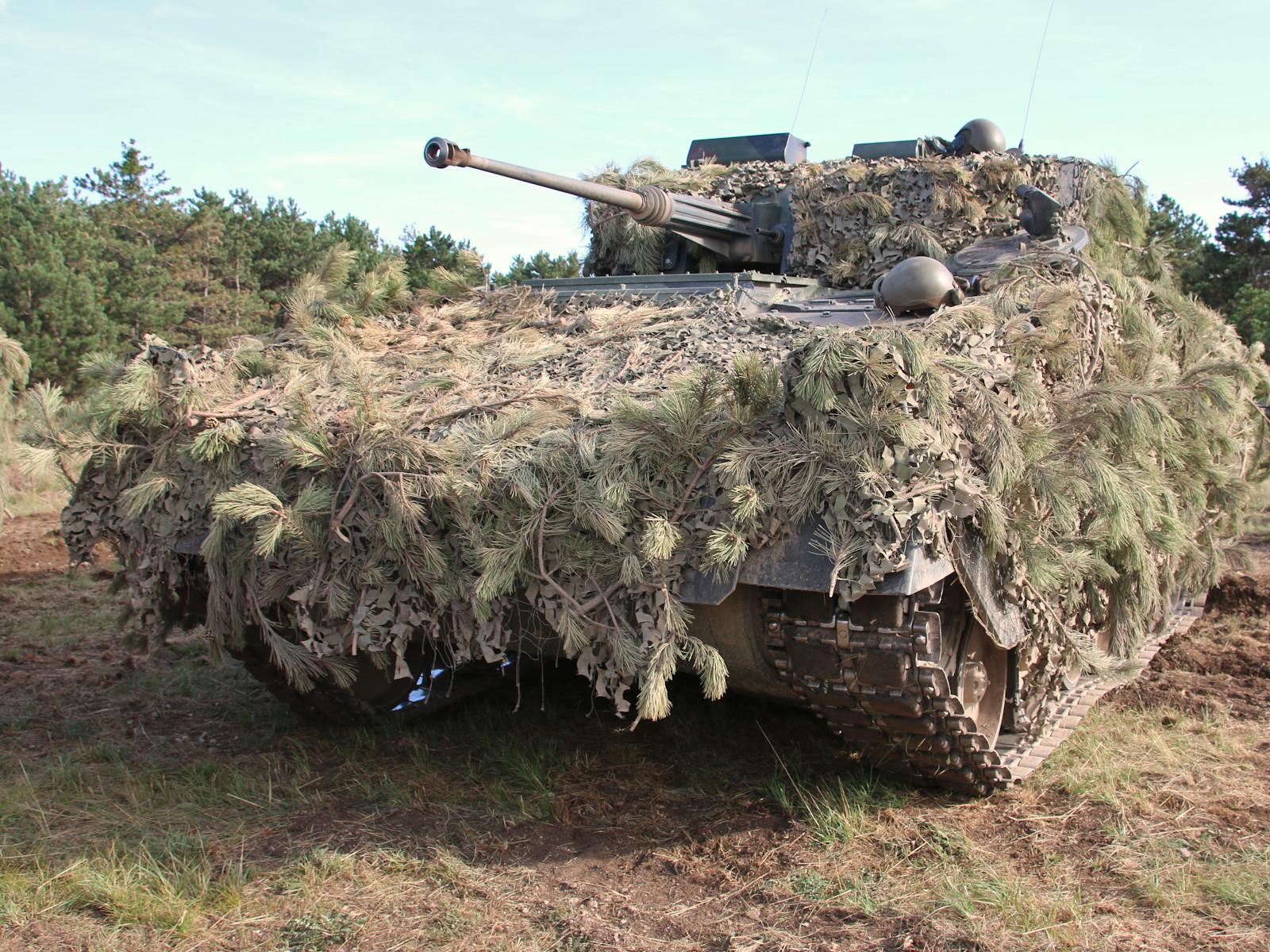 Schützenpanzer Ulan - Tarnung hergestellt © Doppeladler.com