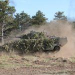 Vollbremsung des Schützenpanzer Ulan © Doppeladler.com