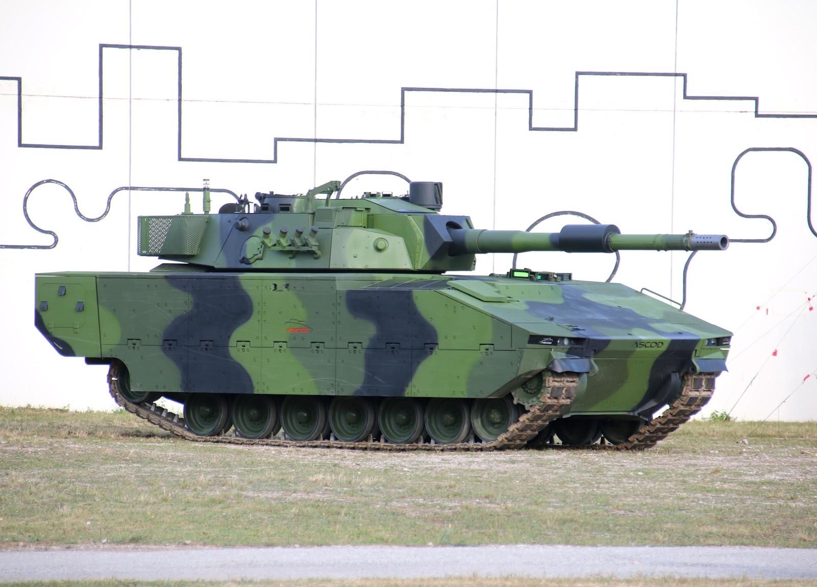 Werks-Prototyp des ASCOD Medium Main Battle Tank von GDELS Steyr © Doppeladler.com