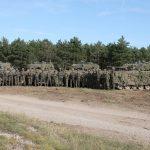 Mission erfüllt - Ein Zug der KPE Kompanie des PzGrenB35 führte die Gefechtsvorführung vor © Doppeladler.com