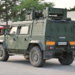 Geschütztes Mehrzweckfahrzeug Husar in der PSYOPS Variante © Doppeladler.com