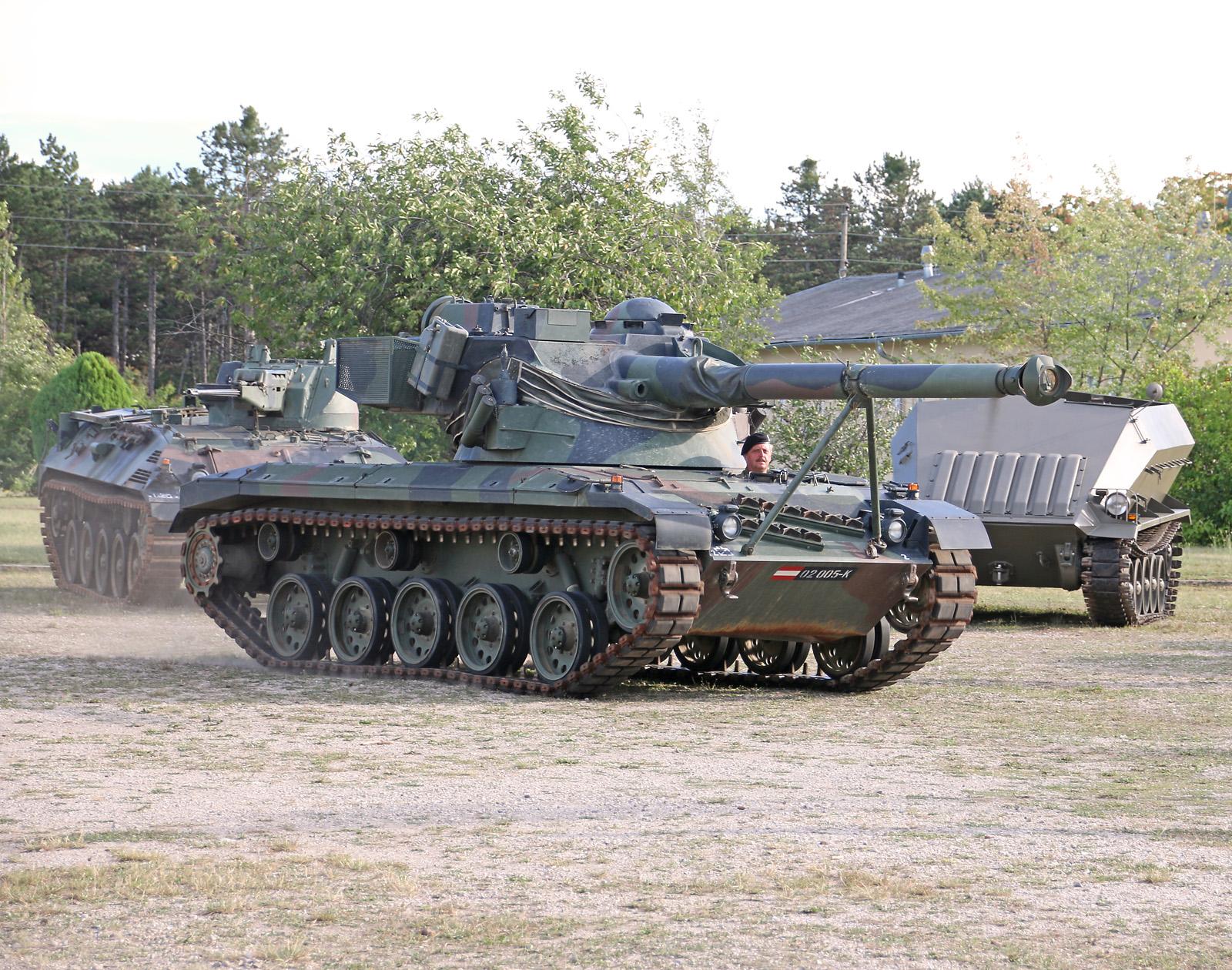 Jagdpanzer SK-105 Kürassier A2 © Doppeladler.com